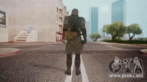 New Venom Snake para GTA San Andreas tercera pantalla