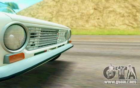 VAZ 2101 Stock para GTA San Andreas vista hacia atrás