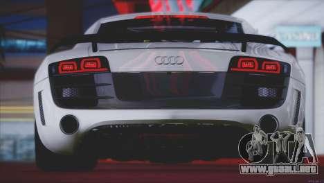 Audi R8 GT 2012 Sport Tuning V 1.0 para las ruedas de GTA San Andreas