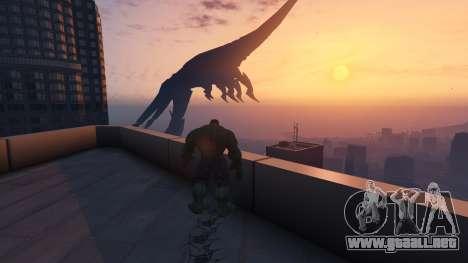 GTA 5 The Hulk décima captura de pantalla