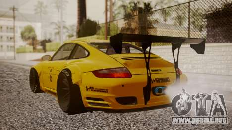 Porsche 997 Liberty Walk para GTA San Andreas left