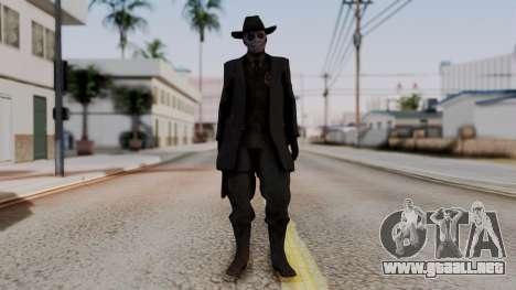 SkullFace Hat para GTA San Andreas segunda pantalla