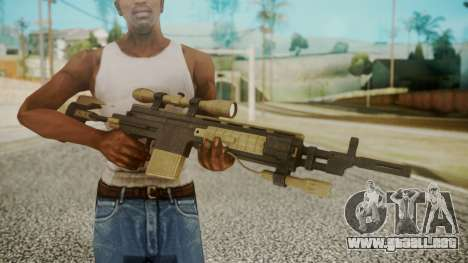 Sniper Rifle from RE6 para GTA San Andreas tercera pantalla