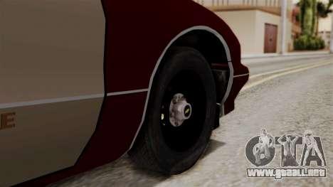 Chevy Caprice Station Wagon 1993-1996 SACFD para GTA San Andreas vista posterior izquierda