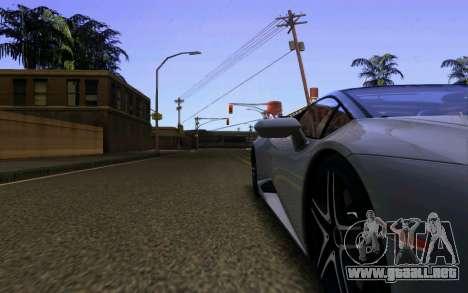 Lamborghini Huracan LP610 VELLANO para vista inferior GTA San Andreas