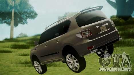 Nissan Patrol IMPUL 2014 para GTA San Andreas left