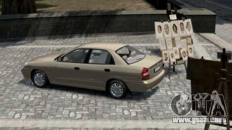 Daewoo Nubira II Sedan S PL 2000 para GTA 4 visión correcta