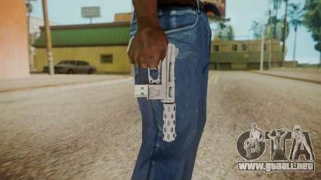 GTA 5 Tec-9 (Lowrider DLC) para GTA San Andreas tercera pantalla
