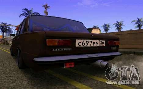 VAZ 2101 Coche para GTA San Andreas vista posterior izquierda