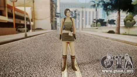 Resident Evil Remake HD - Jill Valentine para GTA San Andreas segunda pantalla