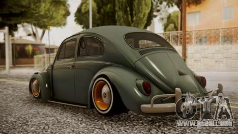 Volkswagen Beetle Aircooled para GTA San Andreas left