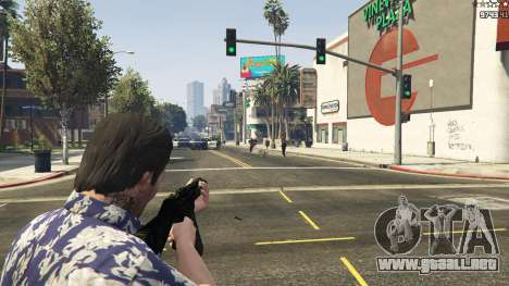 GTA 5 MW3 MP5 décima captura de pantalla