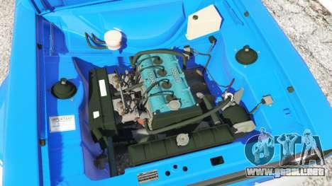 Ford Escort Mk1 v1.1 [blue] para GTA 5