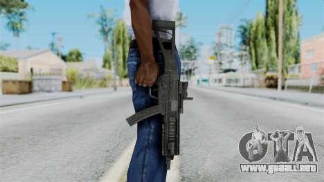 MP5 from RE6 para GTA San Andreas tercera pantalla