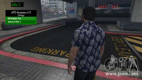 UFO Invasion 1.0.1 para GTA 5