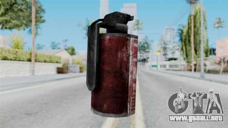 Molotov Cocktail from RE6 para GTA San Andreas segunda pantalla