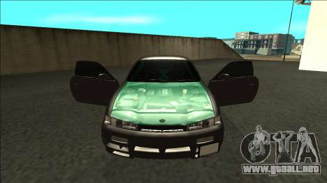 Nissan 200sx Drift para visión interna GTA San Andreas