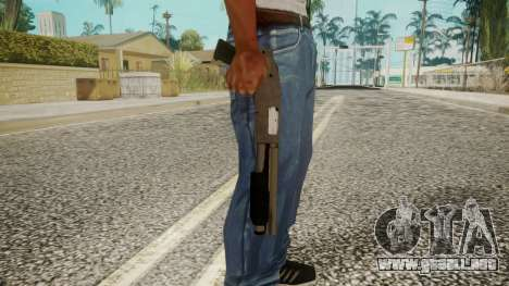 Sawnoff Shotgun by EmiKiller para GTA San Andreas tercera pantalla