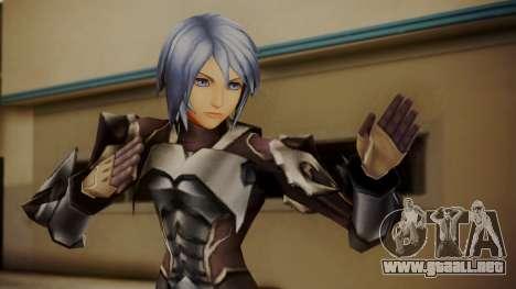 Kingdom Hearts Birth by Sleep - Armor Aqua para GTA San Andreas