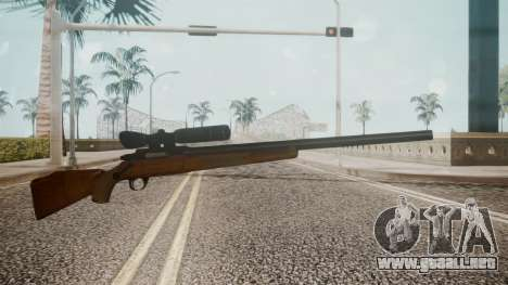 Low Poly Hunting Rifle para GTA San Andreas