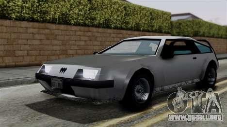 Deluxo from Vice City Stories para la visión correcta GTA San Andreas