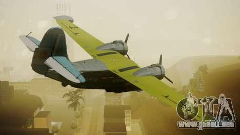 G-21A Argentine Naval Aviaton para GTA San Andreas left