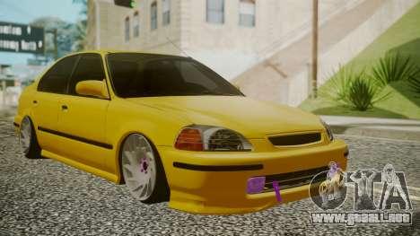 Honda Civic Sedan para GTA San Andreas