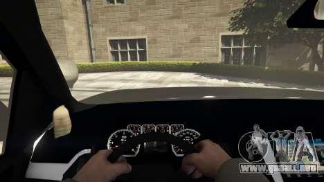 GTA 5 Chevrolet Suburban Sheriff 2015 vista trasera