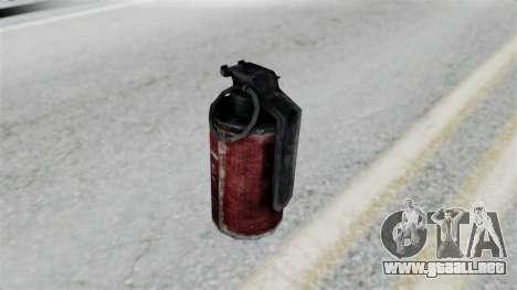 Molotov Cocktail from RE6 para GTA San Andreas tercera pantalla