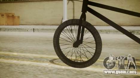 BMX Poland para GTA San Andreas vista posterior izquierda