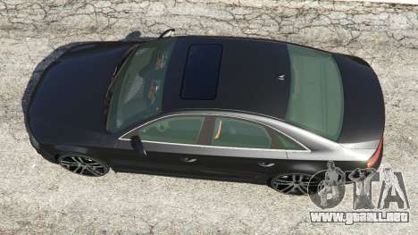 GTA 5 Audi A8 vista trasera