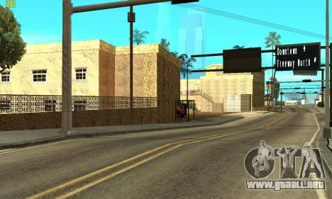 New Jefferson para GTA San Andreas tercera pantalla