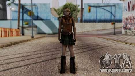 Resident Evil 4 Ultimate HD - Ashley Graham para GTA San Andreas segunda pantalla