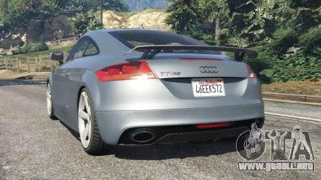GTA 5 Audi TT RS 2013 vista lateral izquierda trasera