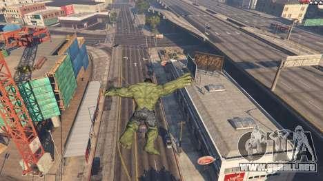 GTA 5 The Hulk sexta captura de pantalla