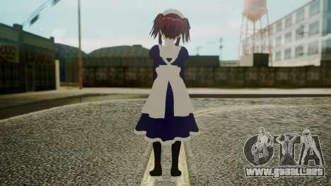 Mey-Rin [Kuroshitsuji] para GTA San Andreas tercera pantalla