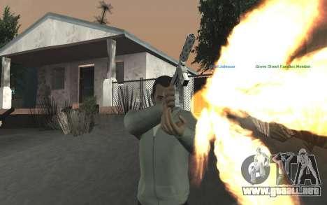 GTA 5 Tec-9 para GTA San Andreas novena de pantalla