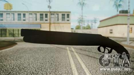 Sawnoff Shotgun (Iron Version) para GTA San Andreas segunda pantalla