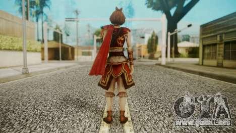 Dynasty Warriors 8 - Sun ShangXian (DLC ROTTK) para GTA San Andreas tercera pantalla