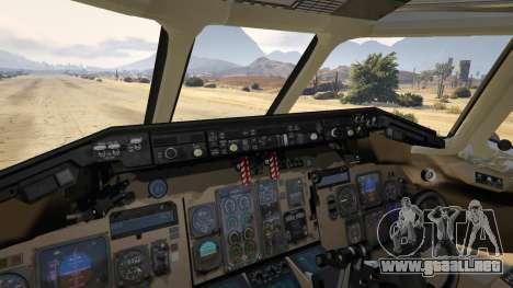 GTA 5 McDonnell Douglas MD-80 séptima captura de pantalla