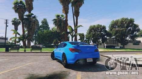 Hyundai Genesis 2013 v0.1 para GTA 5