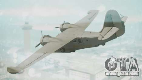 Grumman G-21 Goose Grey para GTA San Andreas left