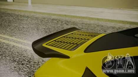 RUF CTR Yellowbird 1987 para GTA San Andreas vista hacia atrás