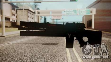 VXA-RG105 Railgun Shark para GTA San Andreas segunda pantalla
