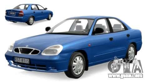 Daewoo Nubira II Sedan S PL 2000 para GTA 4