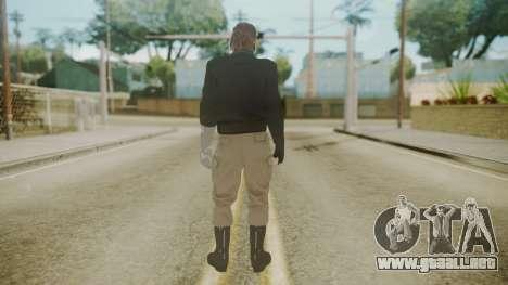 Venom Snake [Jacket] Rocket Arm para GTA San Andreas tercera pantalla