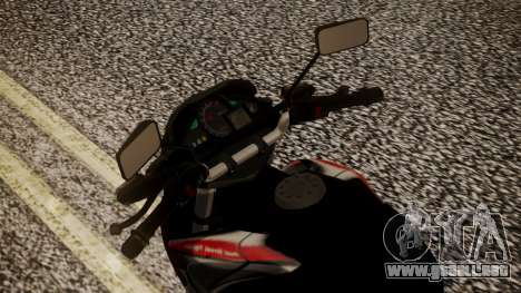New Mega Pro para GTA San Andreas vista hacia atrás