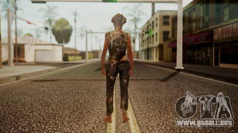 Clicker - The Last Of Us para GTA San Andreas tercera pantalla