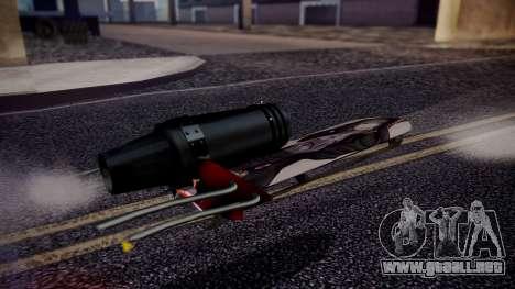 Hovercraft Vocaloid para GTA San Andreas vista posterior izquierda