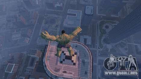 GTA 5 The Hulk noveno captura de pantalla